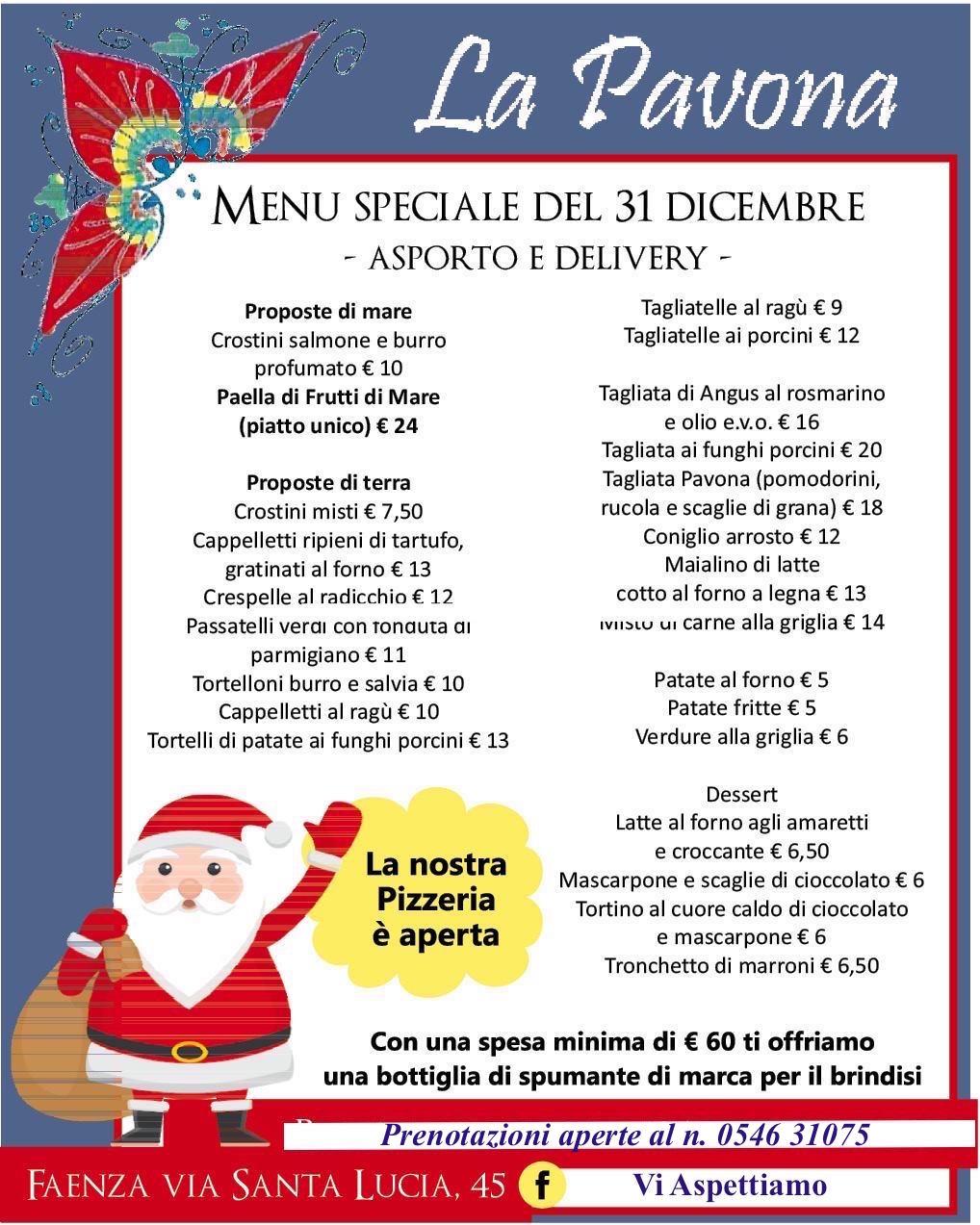 Paella, menù speciale, le nostre pizze